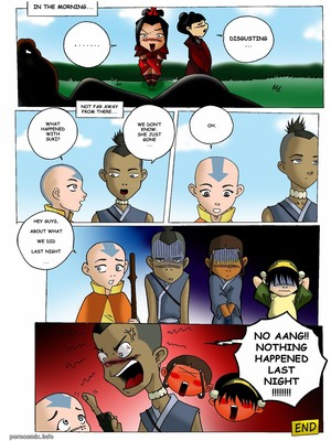 Avatar Last Airbender- An Unknown Aspect Adult Comics