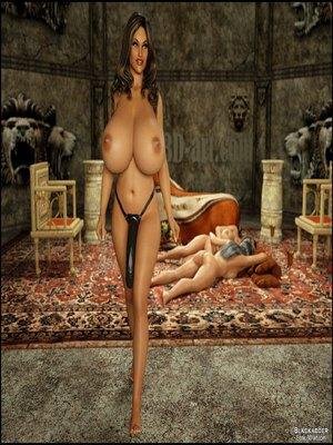 Blackadder -The Royal Family 3D Porn Comics