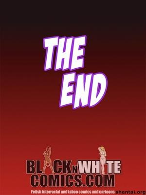 BlacknWhite-3D Busty Detective Interracial Comics