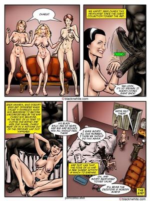 BlacknWhite- Black Sex and the City Interracial Comics
