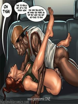 BlacknWhite-The KarASSians the Next Generation Interracial Comics
