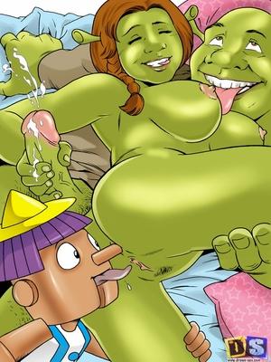 Drawn Sex- Shreku2019s Dreamland Cartoon Comics