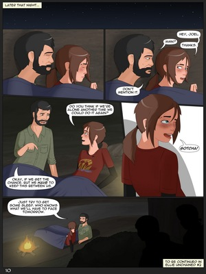 Ellie Unchained 1-Last of US Adult Comics