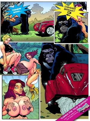 Giantess- Danger Breast I Porncomics