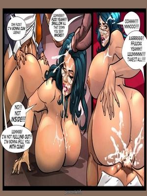 Gush Bomb-The Prof Adult Comics