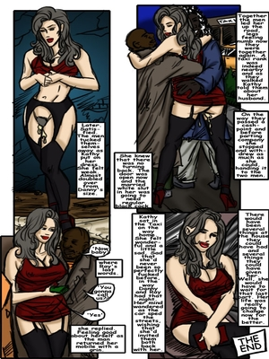 IllustratedInterracial- Black Alley – Revenge Tale Interracial Comics
