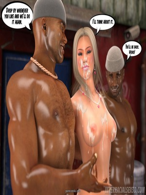 Interracialsex3D – White Slut In Hood 3D Porn Comics