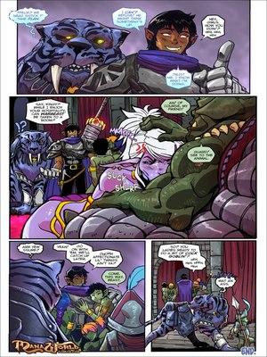 Mana World-Something Borrowed, Something Green Furry Comics, Porncomics