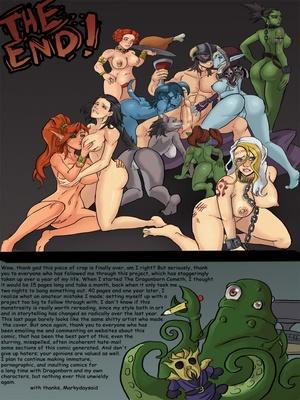 Markydaysaid- The Dragonborn Cometh Adult Comics