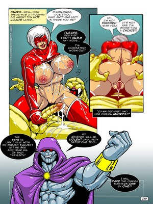 MonsterBabeCentral- Omega Fighters 11-12 Porncomics