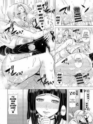 Naruto – Love Icha Nindou Hentai Manga