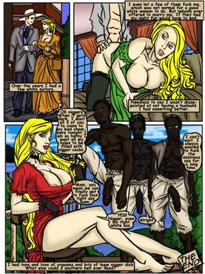 Plantation Living- illustrated interracial Interracial Comics