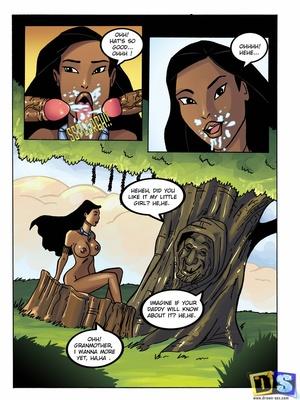 Pocahontas- More Dicks Adult Comics
