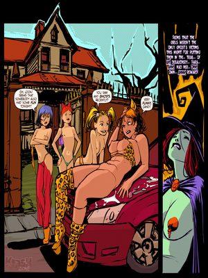 Powerpuff Girls-  Dick or Treat Adult Comics