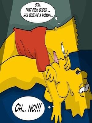 Simpsons – XXX Story in Comics Adult Comics