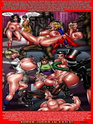 Smudge- Wonder Woman Super Juggs In Exile Porncomics