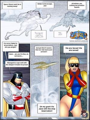 Space Ghost- Seiren Adult Comics