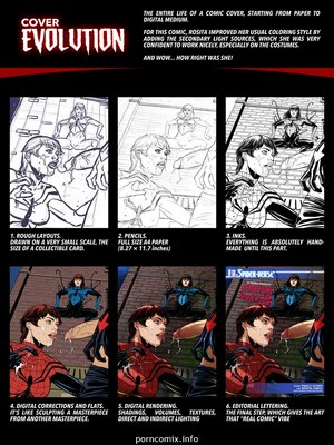 Spider-Girl Spider-Man 2099- Tracy Scops Porncomics