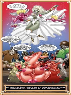 World Of Smudge- Goddess Battles Porncomics
